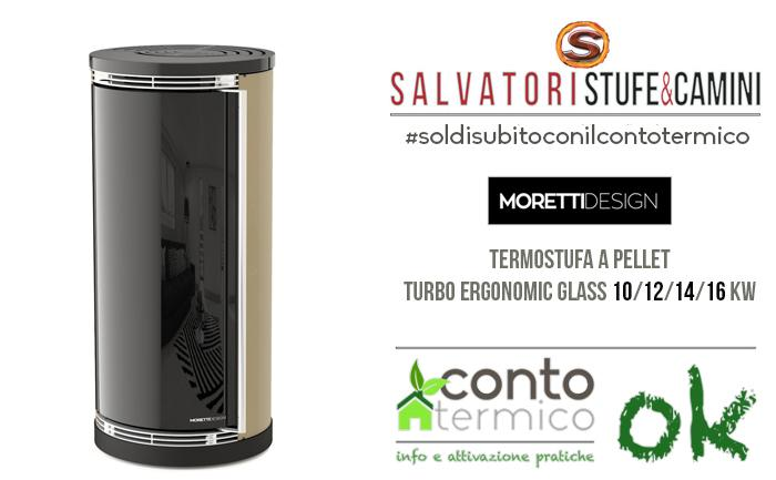 Moretti Design Turbo Ergonomic Glass 10 kw