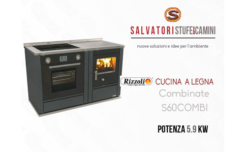 Beautiful Cucina Combinata Gas Legna Images - Embercreative.us ...
