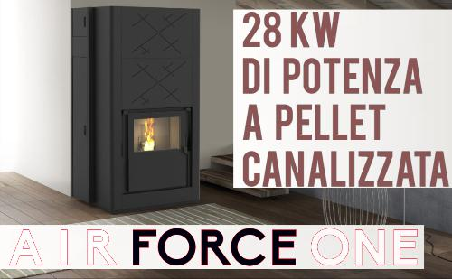 canalizzata a pellet extra