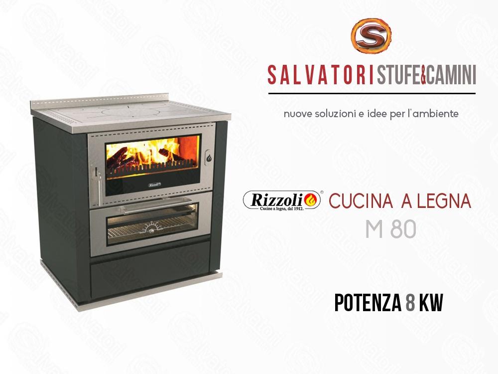 Rizzoli Cucine Personalizzate : Cucina a legna kw rizzoli modello m