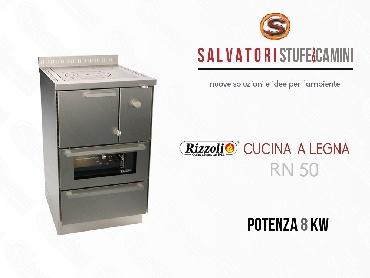 Cucina a legna 8 kw rizzoli modello rn 50 - Cucina a legna rizzoli ...