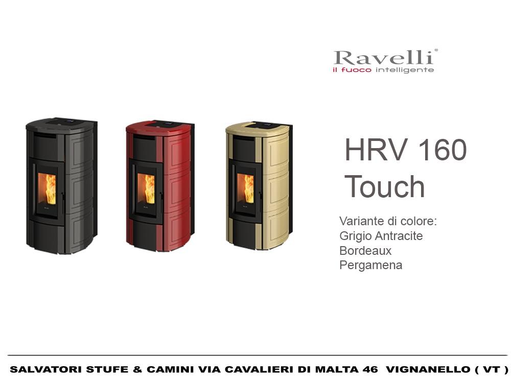 Termostufa A Pellet Ravelli Hrv160 Touch